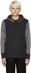 Rag And Bone Grey Radford Hoodie