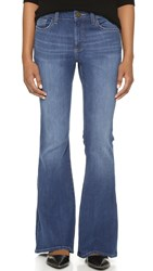 Dl1961 Heather Petite Flare Jeans Pacific