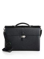 Montblanc Westside Double Gusset Briefcase Black