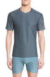 Men's Exofficio 'Give N Go Sport' Mesh Crewneck T Shirt Phantom