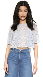 Alice Mccall Come Away Top Powder Blue