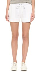 Splendid French Terry Shorts White