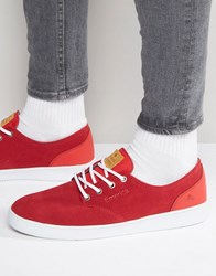 Emerica Romero Laced Trainers Red