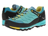 Salewa Mountain Trainer Bright Acqua Mimosa Women's Shoes Blue