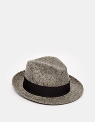Catarzi Trilby Hat Grey