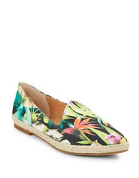 Seychelles Browse Fabric Point Toe Flats Multi Colored
