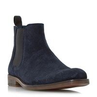 Howick Misile Suede Chelsea Boot Navy