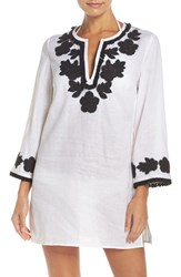Tory Burch Women's Applique Cover Up Tunic