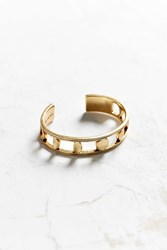 Jenny Bird Moonsong Cuff Bracelet Gold