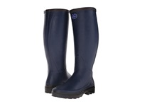 Le Chameau Giverny Marine Women's Work Boots Blue