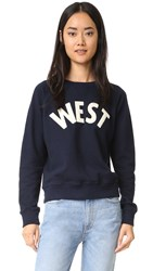 Mother The Square Sweatshirt West
