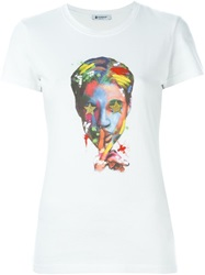 Dondup Prince Printed T Shirt White