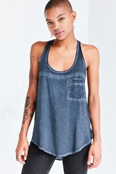 Bdg Mackenzie Washed Tank Top Blue