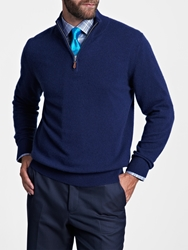 Thomas Pink Hartley Cashmere Jumper Navy