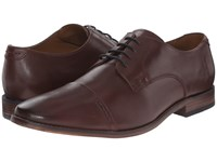 Bostonian Narrate Cap Chestnut Leather Men's Lace Up Cap Toe Shoes Brown