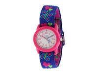 Timex Children's Hearts And Butterflies Stretch Band Watch Pink Watches