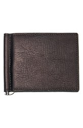 Men's Cathy's Concepts Personalized Leather Wallet And Money Clip Brown Brown Blank