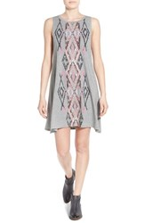 Billabong Women's 'Last Call' Sleeveless Knit Dress Heather Grey