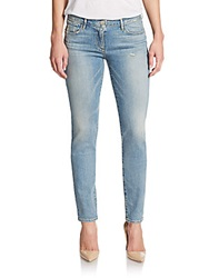 3X1 Low Rise Skinny Jeans Pike Blue