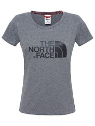 The North Face Easy Short Sleeve T Shirt Grey