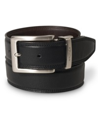 Nautica 35Mm Reversible Leather Belt Blk Brn