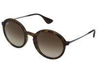 Ray Ban Rb4222 50Mm Havana Rubberized Brown Gradient Fashion Sunglasses