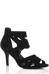 Oasis Hattie 2 Part Sandal Black