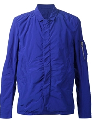 Attachment Concealed Fastening Jacket Blue