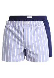 Pier One 2 Pack Boxer Shorts Light Blue Navy