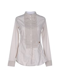 Met And Friends Shirts Shirts Women Beige