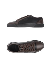 Armani Collezioni Footwear Low Tops And Trainers Men Cocoa