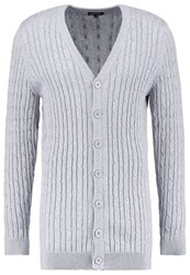 Your Turn Cardigan Motteld Grey Mottled Grey
