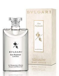 Bulgari Eau Parfumee Au The Blanc Collection Shampoo Shower Gel 6.8 Oz. No Color