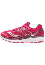 Saucony Triumph Iso 3 Neutral Running Shoes Pink Berry Silver