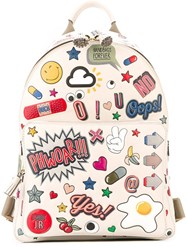 Anya Hindmarch 'All Over Stickers' Backpack White