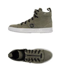Cnc Costume National C'n'c' Costume National High Tops And Trainers Military Green