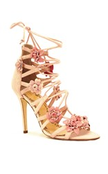 Marchesa Gianna Floral Sandal Pink