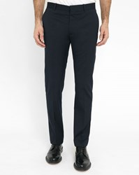Ikks Navy Slim Fit Suit Trousers