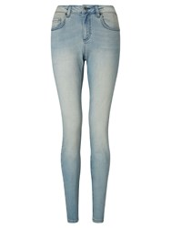 John Lewis Collection Weekend By Drainpipe Jeans Bleached Blue