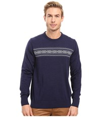 Dale Of Norway Sverre Sweater Navy Off White Men's Sweater Black