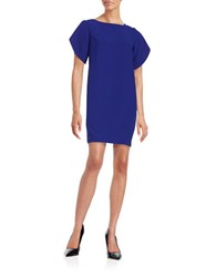 French Connection Wide Sleeve Shift Dress Blue