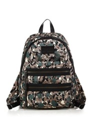 Marc By Marc Jacobs Domo Arigato Brushstroke Camouflage Nylon Backpack Dark Moss