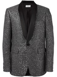 Saint Laurent 'Iconic Le Smoking 70'S' Jacket Black