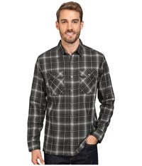 Kuhl Dillingr Long Sleeve Shirt Gotham Men's Long Sleeve Button Up Black