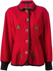 Jean Paul Gaultier Vintage Fitted Jacket Red