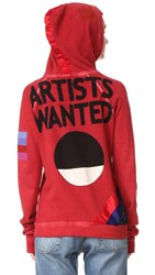 Freecity Artists Wanted Satin Strike Sweatshirt Fireglass