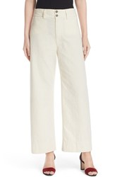 Apiece Apart Women's Merida High Waist Crop Pants