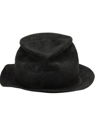 Horisaki Design And Handel Distressed Hat Black