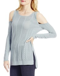 Jessica Simpson Knitted Long Sleeve Pullover Blue