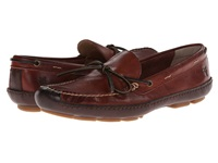 Frye Harbor Tie Black Cherry Wyoming Men's Slip On Shoes Brown